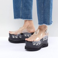Jeffrey Campbell Platform Studded Wedges at asos.com