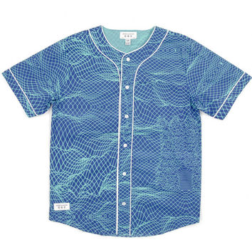 Circuit-Men's Woven Baseball Jersey