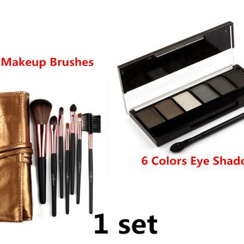 Must-have makeup set 2 units Toolkit Professional Makeup, Makeup Brushes All in High Quality and makeup