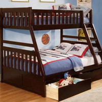 Irvine Twin over Full Bunk Bed