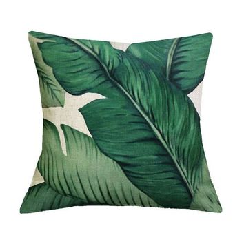 African Nature Cushion Covers - 43x43cm (Leaf 12)