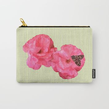 Where the rose grows Carry-All Pouch by anipani