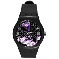 Spooky Crane Machine Watch, Bat Watch, Black Cat Watch, Pastel Goth Watch, Creepy Cute Watch, Eyeball Watch, Black Watch, Cute Watch, Kawaii