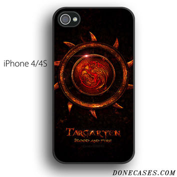 house targaryen game of thrones case for iPhone 4[S]