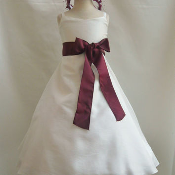Classic Dress Ivory (Flower Girl Dress)