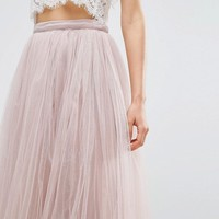 Little Mistress Maxi Tulle Skirt at asos.com