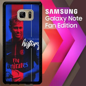 Neymar Psg X6010 Samsung Galaxy Note FE Fan Edition Case