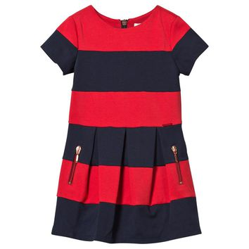 Gaultier Girls Navy & Red Milano Dress