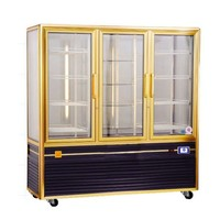 Glass Door Merchandiser - 1250 Liters, 3 Doors, CE, Ventilated, R134a, TT-BC126
