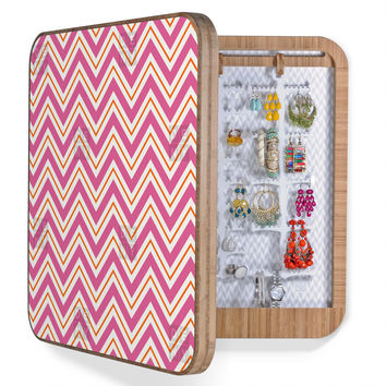 Caroline Okun Berry Pop Chevron BlingBox