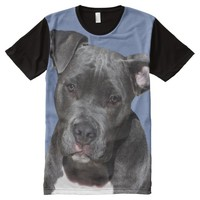 American Staffordshire Terrier All-Over-Print T-Shirt