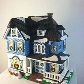 Dept 56 Snow Village Shingle Victorian 54884 by Depatment 56