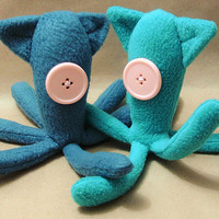 Coraline Inspired Squid Doll