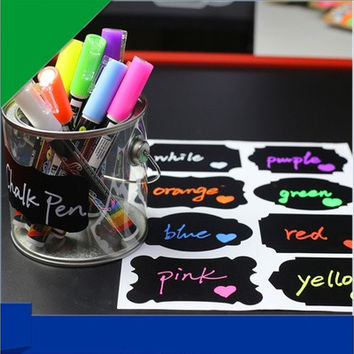 Multicolor Erasable  Liquid Chalk Pen [8270413185]
