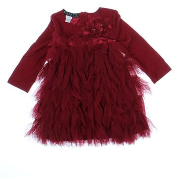 Biscotti Mesh Baby Girls Formal Dress
