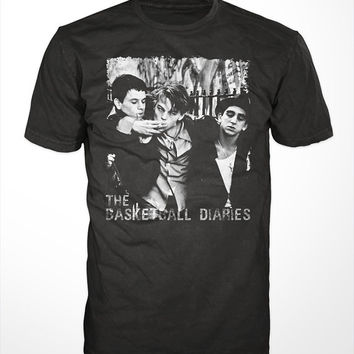 The Basketball Diaries Movie T-Shirt - classic 90s film, leonardo dicaprio tee shirt, drug addiction, cocain, heroin, mark wahlberg new york