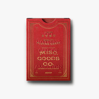 Selfish Ambition Playing Cards - Red and Gold