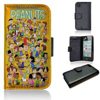 Charlie Brown Peanuts | wallet case | iPhone 4/4s 5 5s 5c 6 6+ case | samsung galaxy s3 s4 s5 s6 case |