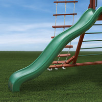 Gorilla Playsets Wiki Wave Slide for 5ft Deck Heights