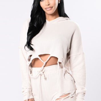 Calling All Ladies Top - Oatmeal