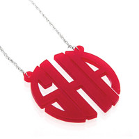 Acrylic Circle Monogram ( More Colors Available)