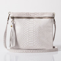 Leather clutch, bag, Evening leather purse, leather case, White leather bag, SALE 15% off!! And FREE SHIPPING!