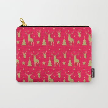 Winter Joy Carry-All Pouch by printapix