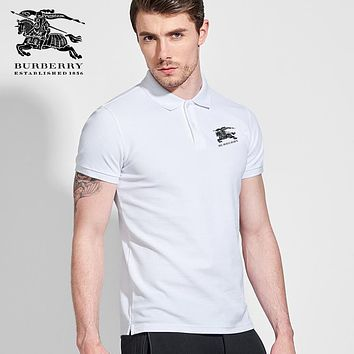 Burberry Men Polo Shirts