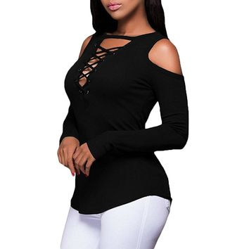 NewMe® Cold Shoulder Top