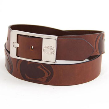 Penn State Nittany Lions NCAA Brandish Leather Belt Size 42