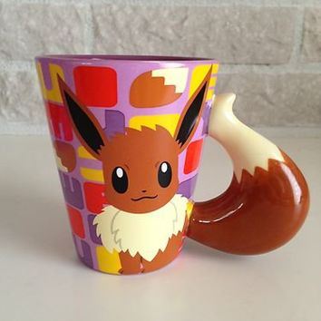 Japanese Pokémon Center Limited Mug! *Eevee's Tail Mug*!