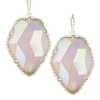 Corley Gold Drop Earrings in Iridescent Slate - Kendra Scott Jewelry