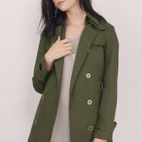 Stormy Skies Trench Coat