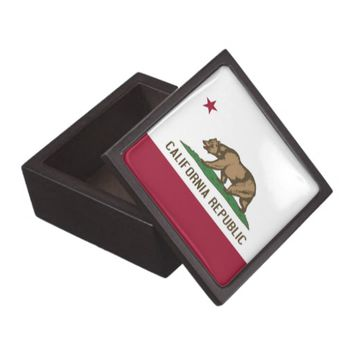 California State Flag Premium Gift Box