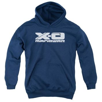 Xo Manowar - Logo Youth Pull Over Hoodie