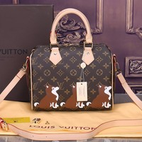 LV Louis Vuitton Shoulder Bag - Clutch Bag Print Puppy B-OM-NBPF