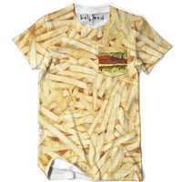 Burger and Fries Pocket Tee