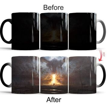 Color Changing Mug Game of Thrones Mug Creative Gifts (Size: Mug)