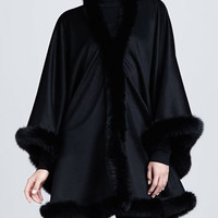 Private Label Cashmere Cape