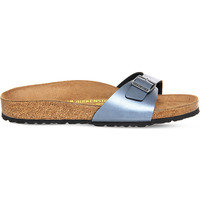 BIRKENSTOCK Madrid metallic-leather sandals