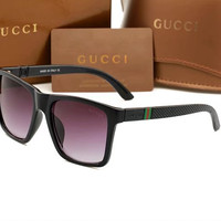 GUCCI 2018 men's and women's fashion exquisite high quality sunglasses F-ANMYJ-BCYJ NO.1