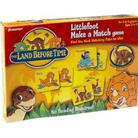 Land Before Time Littlefoot Make A Match Game