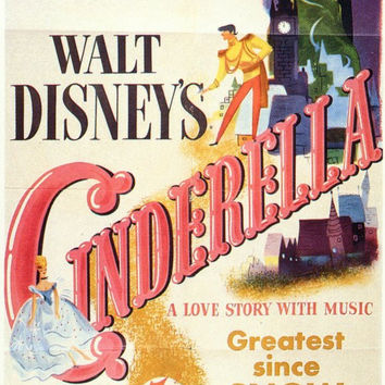 Cinderella 11x17 Movie Poster (1950)