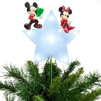 Disney Mickey Mouse and Minnie Tree Topper   Disney Store