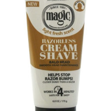 Magic Razorless Shave Cream, Smooth Shave Cream SoftSheen Carson