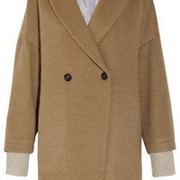 Boy. by Band of Outsiders | Oversized camel coat | NET-A-PORTER.COM