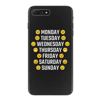 Moods Of The Week Daily Emoji iPhone 7 Plus Case