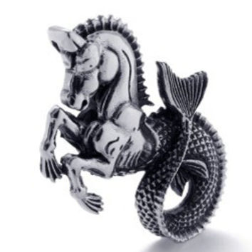 Stainless Steel Sea Horse