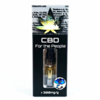 CBD For The People UNCUT Wax Cartridges (0.5g)