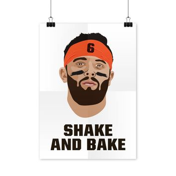 Baker Mayfield Poster Shake and Bake Baker Mayfield